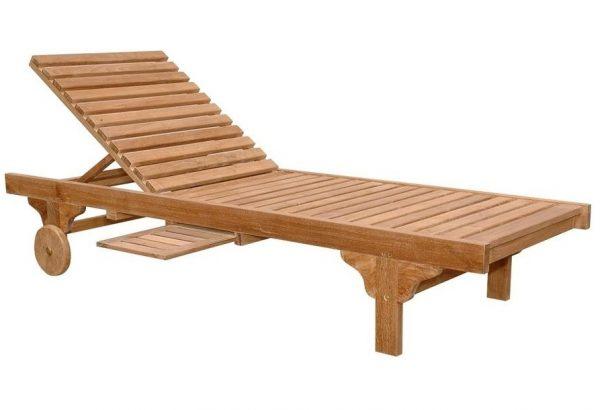 Drvena lezaljka za plazu 1