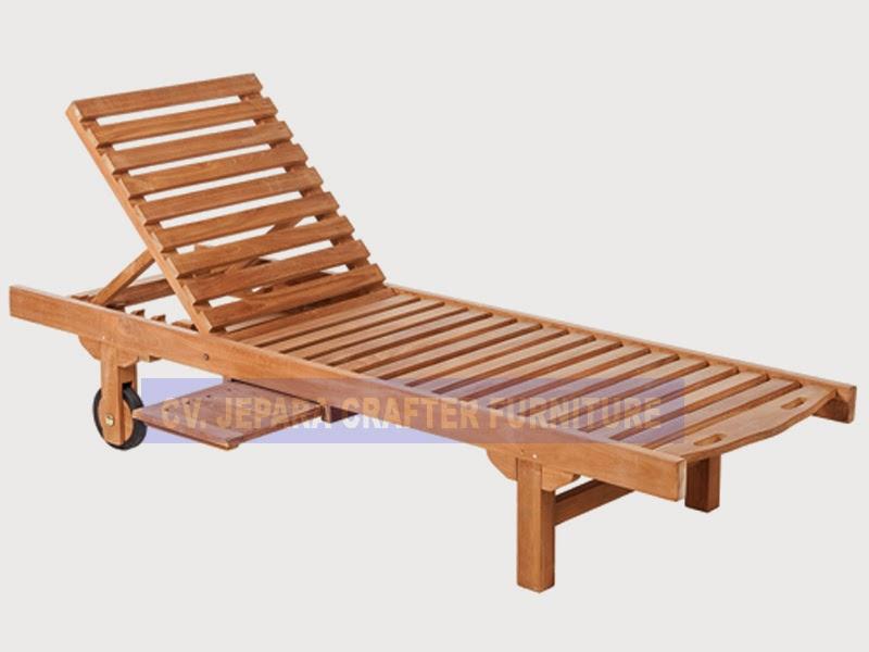 8a Teak wood outdoor beach pool sun lounger exporter