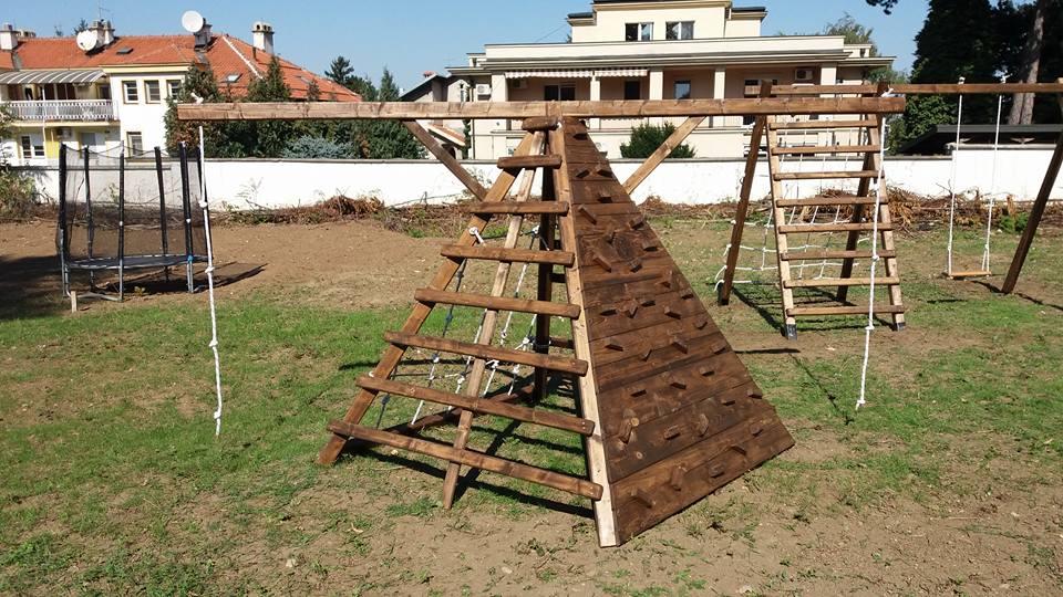 Penjalica za decu piramida